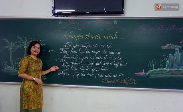 Gặp 18 cô giáo Quảng Trị viết chữ đẹp như vẽ tranh vừa gây sốt MXH: Học sinh trong trường chữ cũng siêu đẹp - Ảnh 6.