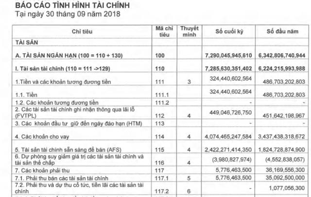 Chứng khoán Bản Việt (VCSC): Thị trường trầm lắng, lãi ròng quý 3 giảm 20% về 160 tỷ đồng - Ảnh 2.