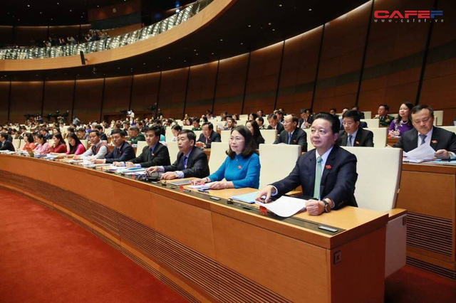 Những hình ảnh ấn tượng phiên khai mạc kỳ họp thứ 6 Quốc hội khoá XIV - Ảnh 13.