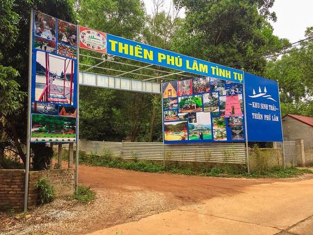 Bên trong khu sinh thái khủng ở Sóc Sơn chính quyền xem là nhà tạm - Ảnh 2.