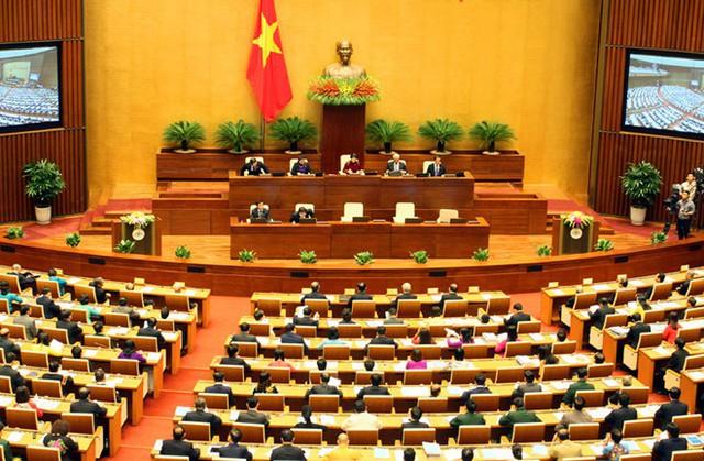 [TRỰC TIẾP]: Khai mạc Kỳ họp thứ 6, Quốc hội Khóa XIV - Ảnh 1.