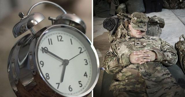 2 phương pháp giúp bạn ngủ trong vòng 120s bất kể ngày đêm và địa điểm - có một là của quân đội Mỹ - Ảnh 2.