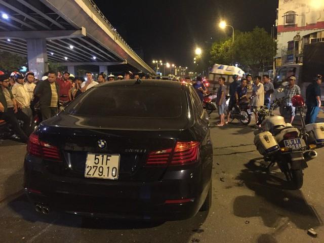 Lời khai ban đầu của nữ tài xế BMW gây tai nạn hàng loạt khiến nhiều người thương vong ở TP.HCM - Ảnh 1.