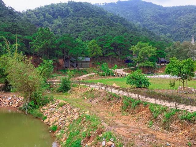 Bên trong khu sinh thái khủng ở Sóc Sơn chính quyền xem là nhà tạm - Ảnh 17.