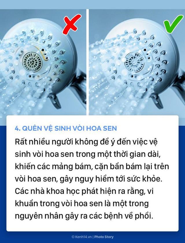 Những thói quen không thể ngờ tới khiến bạn dù tắm rửa nhưng vẫn không sạch sẽ - Ảnh 3.