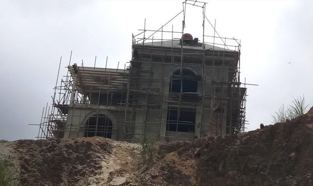 Cận cảnh villa khủng xây trái phép của Công ty xi măng Công Thanh - Ảnh 6.