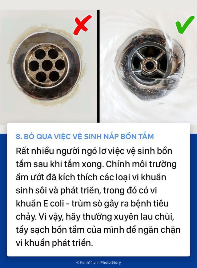 Những thói quen không thể ngờ tới khiến bạn dù tắm rửa nhưng vẫn không sạch sẽ - Ảnh 7.