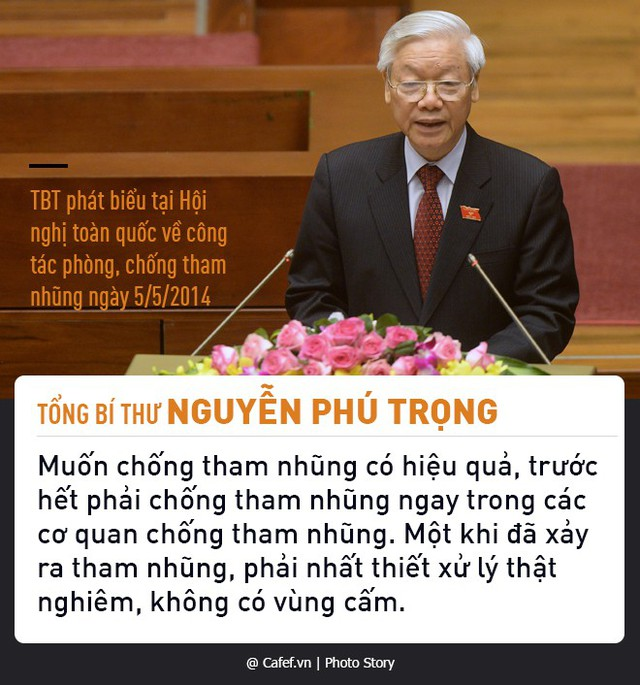 Tổng Bí thư Nguyễn Phú Trọng và những câu nói nổi tiếng về chống tham nhũng  - Ảnh 3.