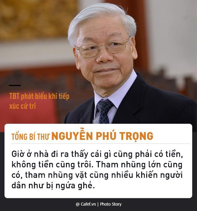 Tổng Bí thư Nguyễn Phú Trọng và những câu nói nổi tiếng về chống tham nhũng  - Ảnh 1.