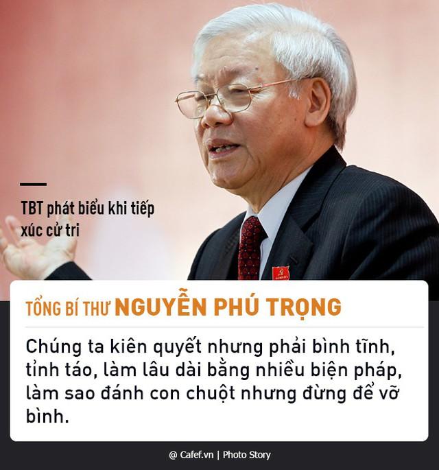 Tổng Bí thư Nguyễn Phú Trọng và những câu nói nổi tiếng về chống tham nhũng  - Ảnh 5.