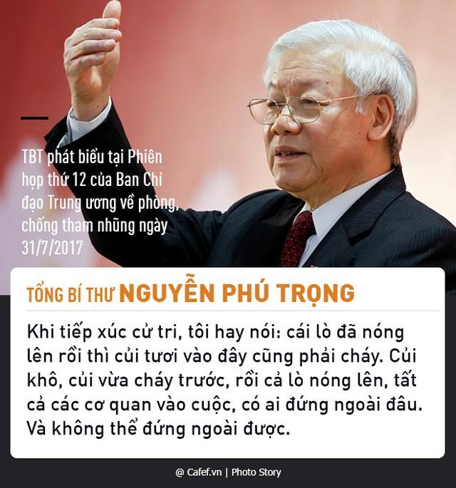 Tổng Bí thư Nguyễn Phú Trọng và những câu nói nổi tiếng về chống tham nhũng  - Ảnh 4.