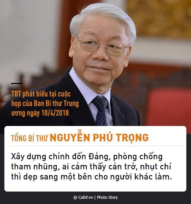 Tổng Bí thư Nguyễn Phú Trọng và những câu nói nổi tiếng về chống tham nhũng  - Ảnh 6.