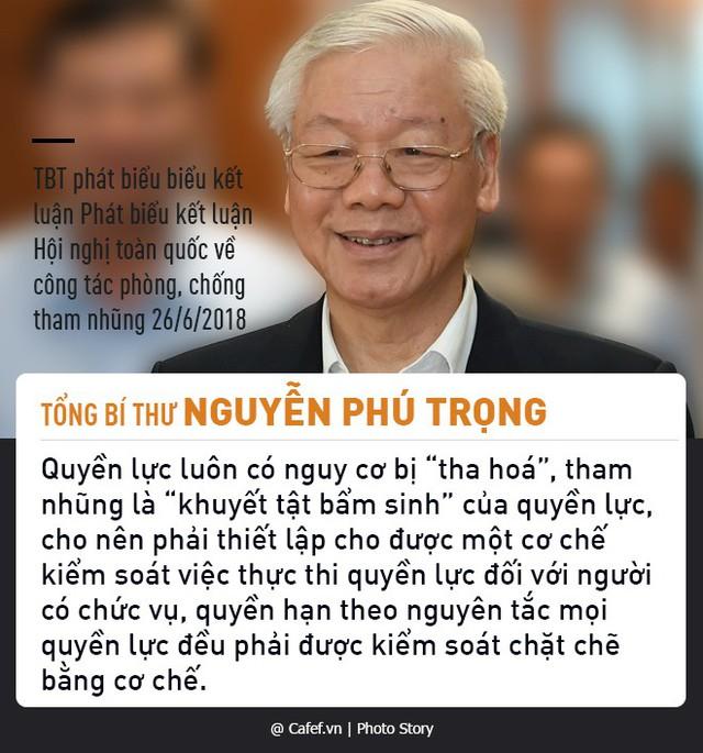 Tổng Bí thư Nguyễn Phú Trọng và những câu nói nổi tiếng về chống tham nhũng  - Ảnh 7.
