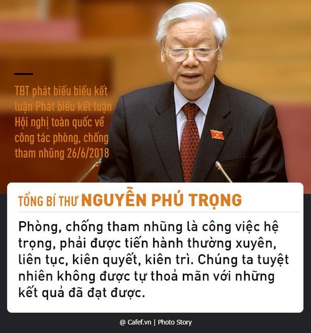 Tổng Bí thư Nguyễn Phú Trọng và những câu nói nổi tiếng về chống tham nhũng  - Ảnh 9.