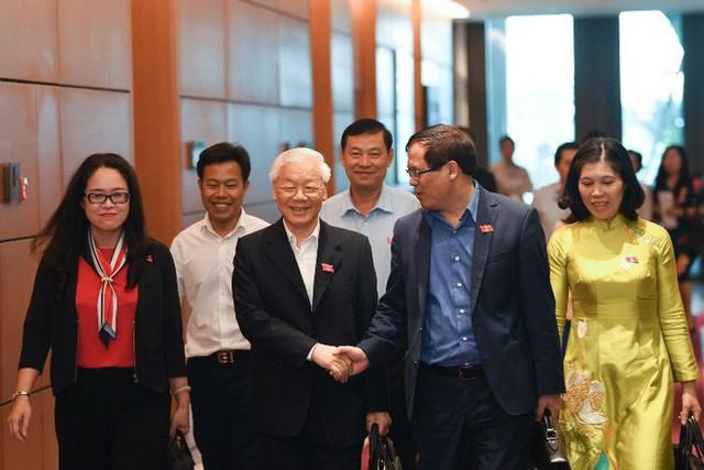 Tổng Bí thư, Chủ tịch nước Nguyễn Phú Trọng tuyên thệ nhậm chức - Ảnh 2.