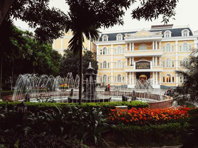 Cận cảnh vẻ đẹp lãng mạn của ĐH Quốc gia Hà Nội - Ngôi trường chiếm vị trí cao nhất ĐH Việt trong 2 BXH uy tín thế giới gần đây - Ảnh 12.