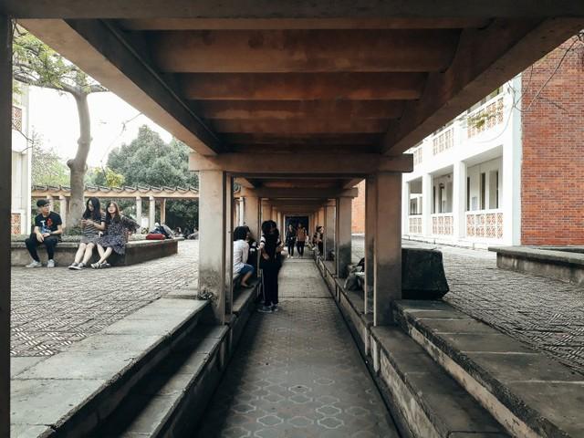 Cận cảnh vẻ đẹp lãng mạn của ĐH Quốc gia Hà Nội - Ngôi trường chiếm vị trí cao nhất ĐH Việt trong 2 BXH uy tín thế giới gần đây - Ảnh 13.