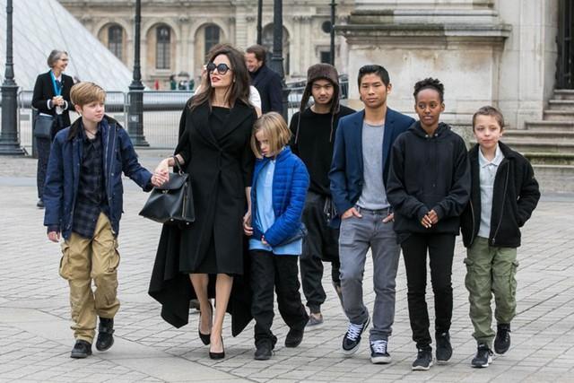 Rộ tin quyền nuôi 6 con của Angelina Jolie và Brad Pitt đã được phân chia, bất ngờ nhất là sự lựa chọn của Pax Thiên - Ảnh 1.