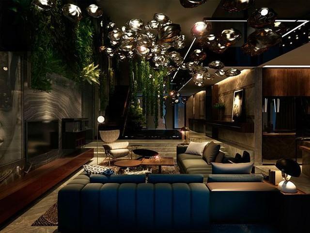 Choáng ngợp có độ xa xỉ của villa siêu sang ven đô Hà Nội - Ảnh 3.