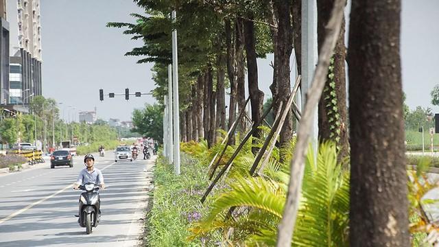 Mãn nhãn với con đường có 10 làn chuẩn bị thông xe ở Hà Nội   - Ảnh 11.