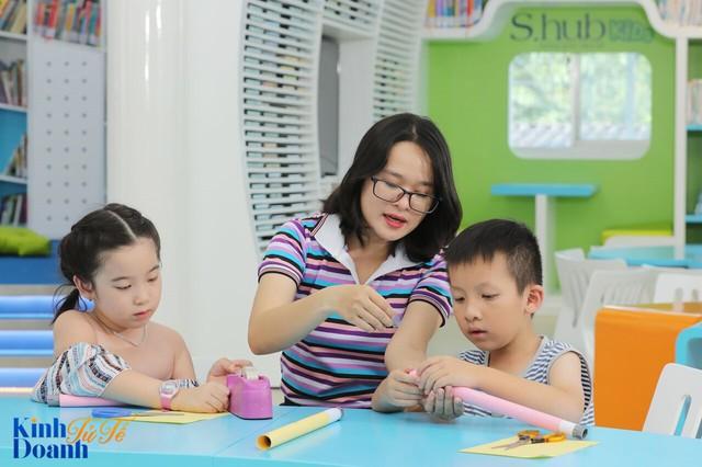 Phía sau thư viện trong mơ dành cho trẻ em ở Sài Gòn - Ảnh 2.