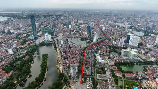Điểm mặt những tuyến đường đắt nhất hành tinh tại Hà Nội - Ảnh 1.