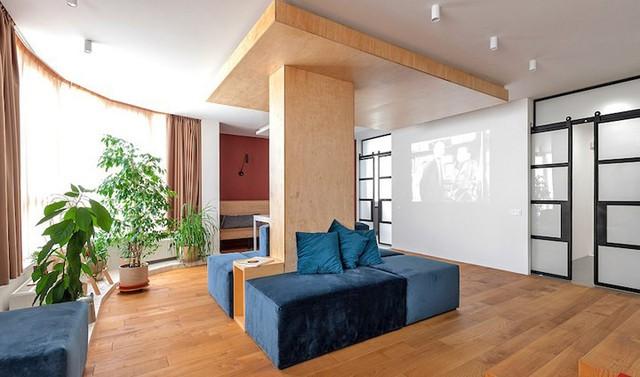 Ngôi nhà có phòng khách giống rạp chiếu phim - Ảnh 1.