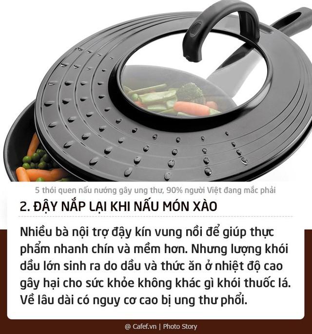 5 thói quen nấu nướng gây ung thư, 90% người Việt đang mắc phải: Thay đổi ngay nếu không muốn con cái cũng phải chịu nạn!  - Ảnh 2.