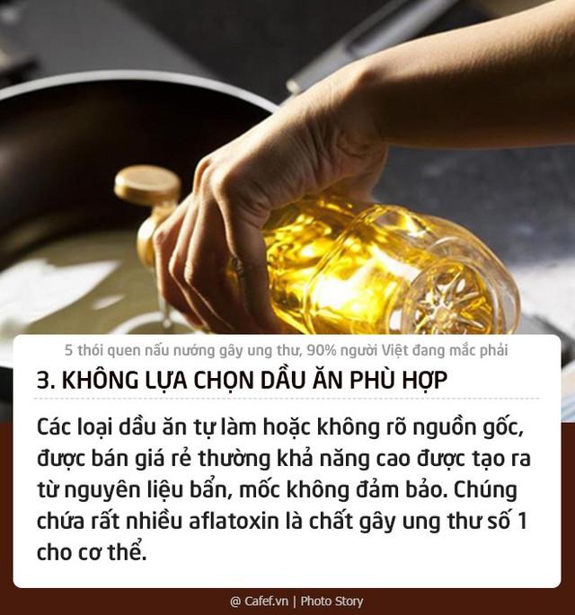 5 thói quen nấu nướng gây ung thư, 90% người Việt đang mắc phải: Thay đổi ngay nếu không muốn con cái cũng phải chịu nạn!  - Ảnh 3.