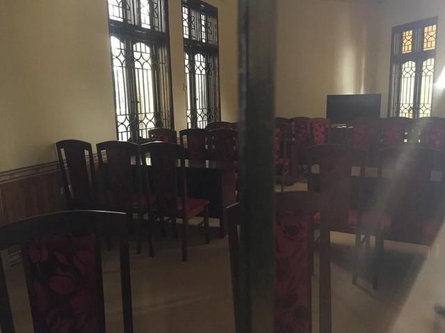 Sân tòa 1.000m2 dùng làm nơi xét xử cựu Trung tướng Phan Văn Vĩnh - Ảnh 12.