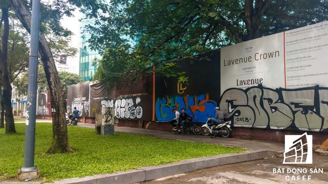 Cận cảnh dự án đất vàng Lavenue Crown rộng 5.000m2 sát cạnh tòa nhà Diamond giữa trung tâm Sài Gòn sắp bị thu hồi - Ảnh 7.