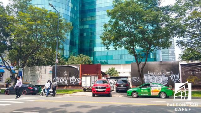 Cận cảnh dự án đất vàng Lavenue Crown rộng 5.000m2 sát cạnh tòa nhà Diamond giữa trung tâm Sài Gòn sắp bị thu hồi - Ảnh 9.