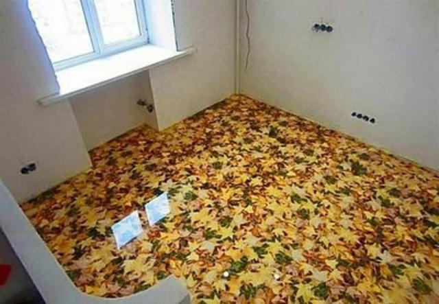 Những sàn nhà lát hình 3D khiến căn phòng như hòa mình vào môi trường xung quanh - Ảnh 8.