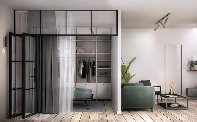 Căn hộ 46 m2 có cách phân chia không gian hợp lý - Ảnh 2.