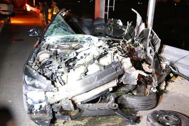 Tai nạn kinh hoàng trên cao tốc Hải Phòng - Quảng Ninh, 2 người tử vong - Ảnh 3.