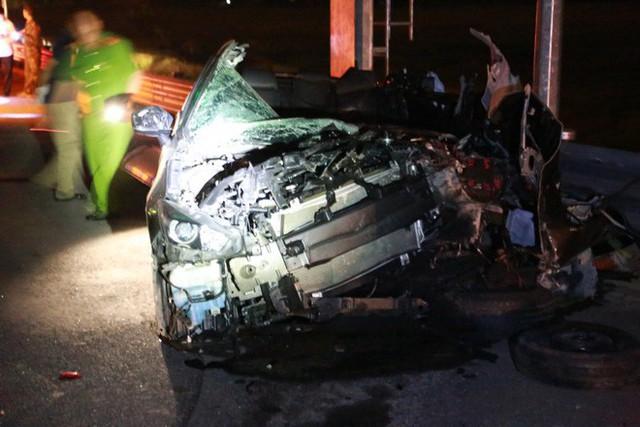 Tai nạn kinh hoàng trên cao tốc Hải Phòng - Quảng Ninh, 2 người tử vong - Ảnh 4.