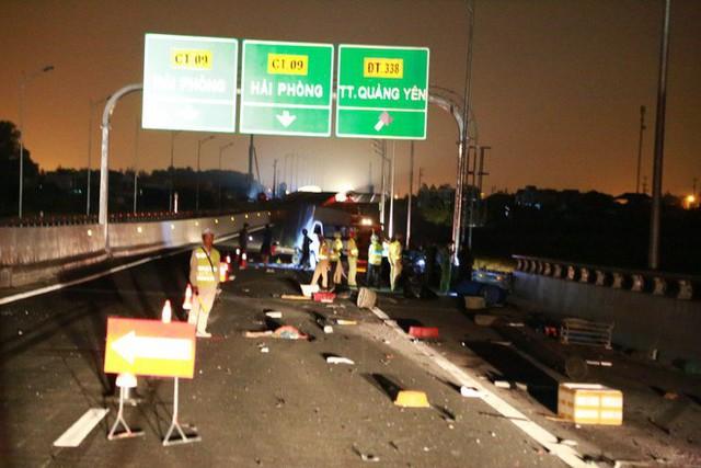 Tai nạn kinh hoàng trên cao tốc Hải Phòng - Quảng Ninh, 2 người tử vong - Ảnh 7.