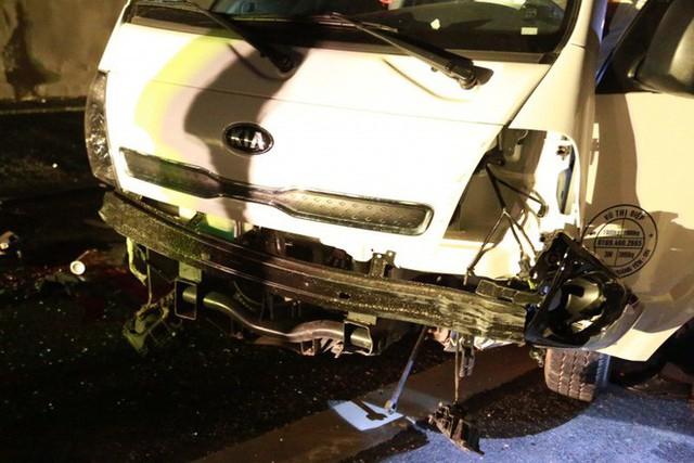 Tai nạn kinh hoàng trên cao tốc Hải Phòng - Quảng Ninh, 2 người tử vong - Ảnh 9.