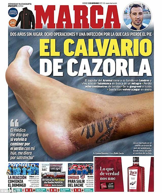Từ chỗ suýt phải cưa chân, tiền vệ kỳ cựu người Tây Ban Nha nỗ lực thần kỳ để trở lại sân cỏ và ghi bàn thắng quý giá nhất cuộc đời - Ảnh 2.