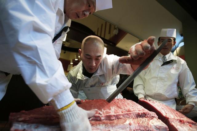 Kỷ nguyên mới cho chợ cá lâu đời nhất Nhật Bản, nơi xử lý 1.600 tấn hải sản mỗi ngày - Ảnh 5.