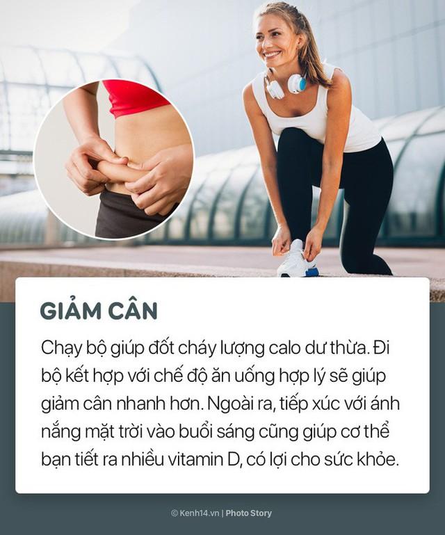 Không chỉ giảm cân, chạy bộ 5 phút mỗi ngày còn có nhiều lợi ích bất ngờ đối với sức khoẻ - Ảnh 2.
