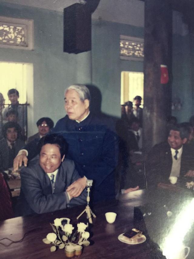 Những hình ảnh in dấu cố Tổng Bí thư Đỗ Mười tại quê nhà Đông Mỹ - Ảnh 11.