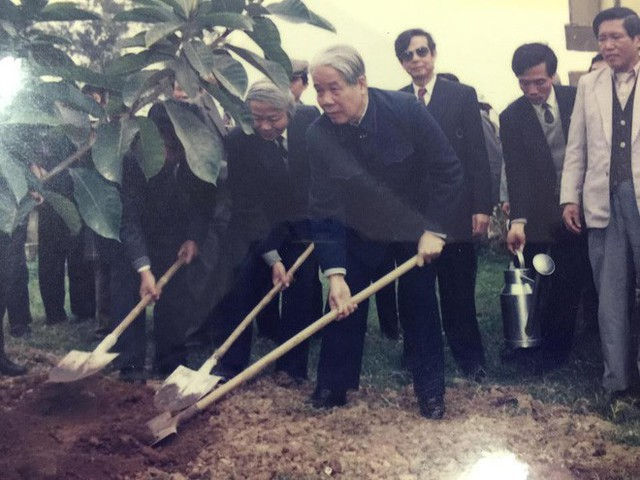 Những hình ảnh in dấu cố Tổng Bí thư Đỗ Mười tại quê nhà Đông Mỹ - Ảnh 12.