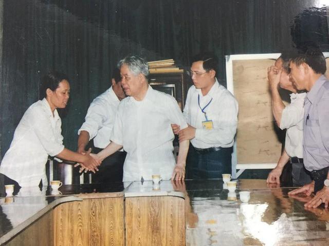 Những hình ảnh in dấu cố Tổng Bí thư Đỗ Mười tại quê nhà Đông Mỹ - Ảnh 13.