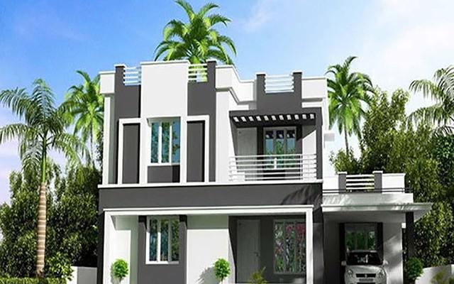 Tham khảo 10 mẫu villa tân tiến, giá thành thi công dưới 1,5 tỷ đồng - Ảnh 9.