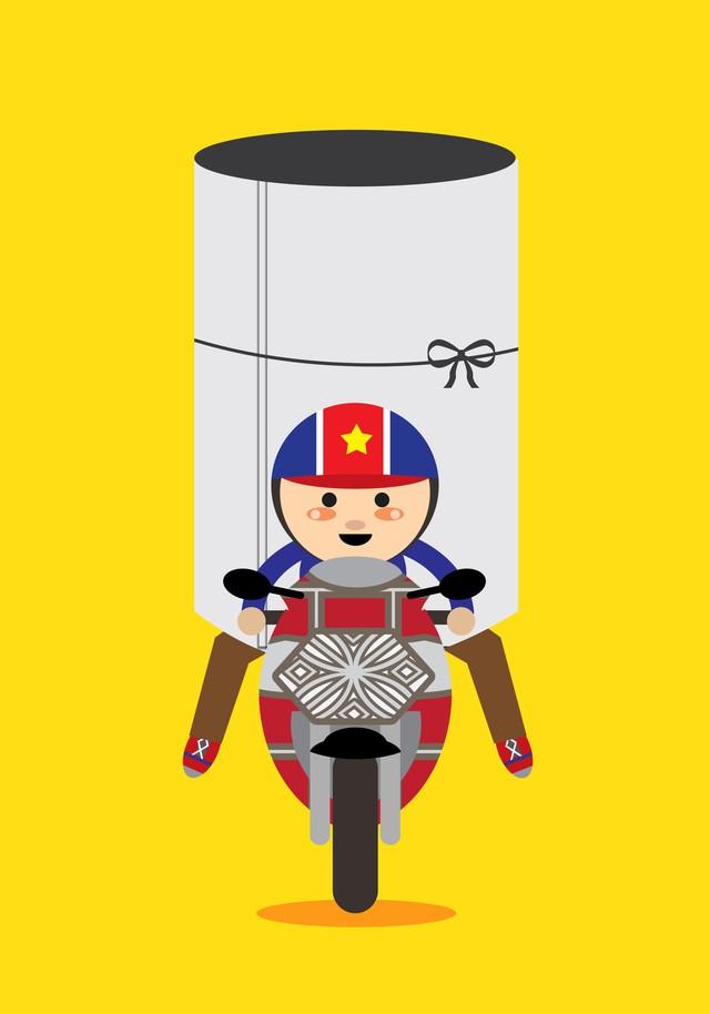 Hoá ra trong mắt bạn bè quốc tế, giao thông Việt Nam lại thú vị và hài hước đến vậy - Ảnh 20.