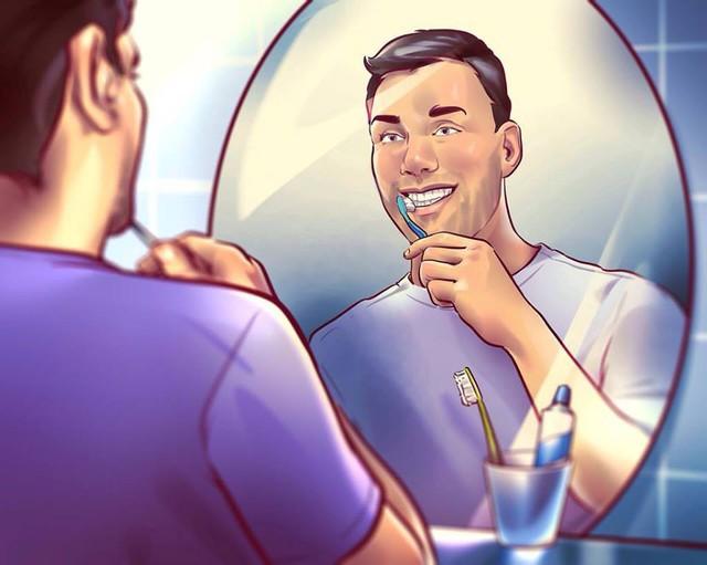 5 thói quen xấu khi đánh răng khiến hàm răng chẳng mấy mà hư hỏng - Ảnh 4.