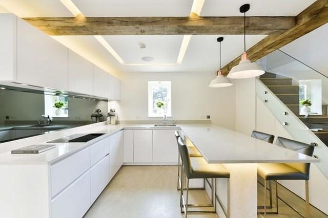 Sáng tạo thiết kế đèn LED khiến căn nhà thêm sang trọng - Ảnh 5.