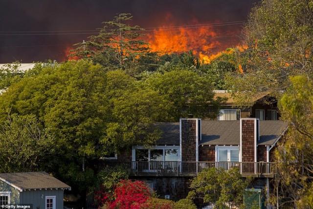 """Hãi hùng cảnh cháy rừng giống """"bom hạt nhân phát nổ"""" ở California, Mỹ - Ảnh 13."""