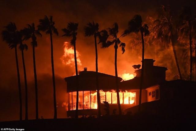 """Hãi hùng cảnh cháy rừng giống """"bom hạt nhân phát nổ"""" ở California, Mỹ - Ảnh 4."""